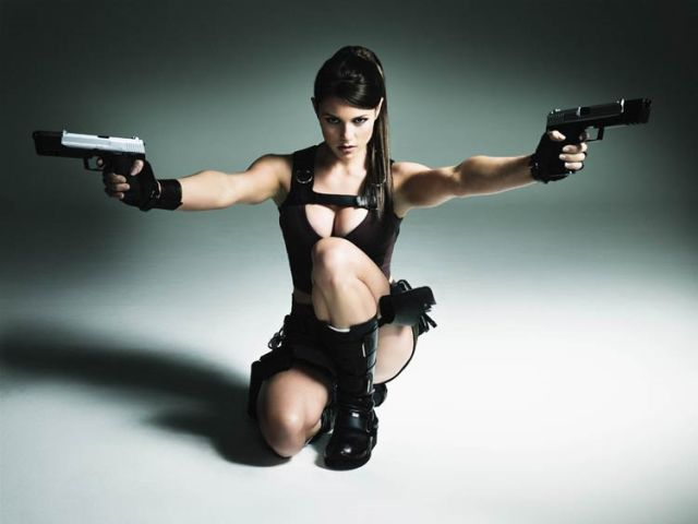 Tomb Raider model Alison Carroll
