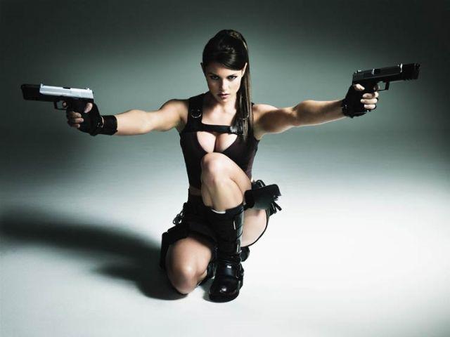 Tomb Raider model Alison Carroll