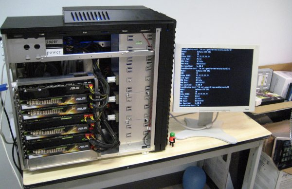FASTRA II Puts 13 GPUs In a Desktop Supercomputer - Slashdot
