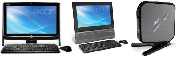 NO HDD Acer Veriton N281G Intel Atom 1.8 GHz 2GB DDR3 Desktop AIO