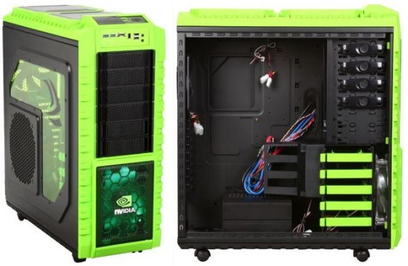 Cooler Master Reveals Haf X Nvidia Edition