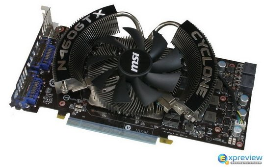 MSI GeForce GTX 460 Cyclone gets pictured