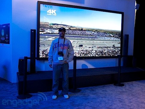 Panasonic Has Giant 152 Inch Plasma Tv At Ces