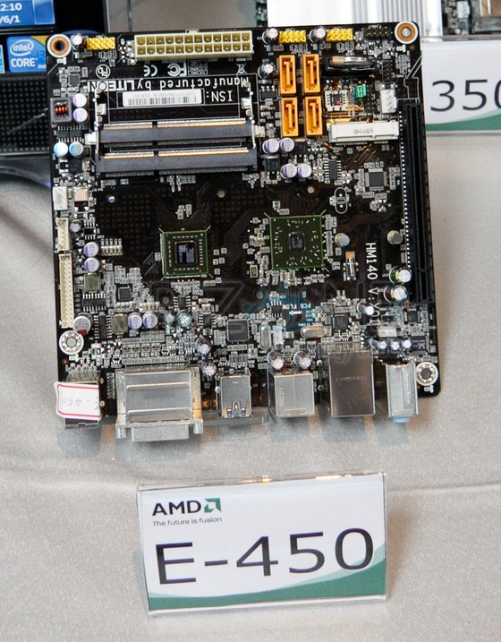 VR Zone spotted AMD's E-450 APU at Computex.