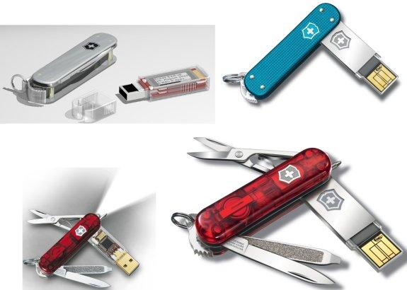 Victorinox Debuts New Pocket Knife Flash Drives At Ces