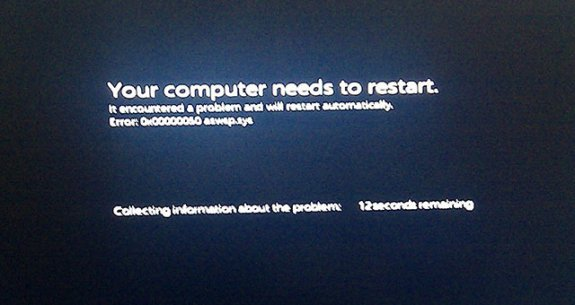 Windows 8 Installation And Bsod Screenshots Leaked