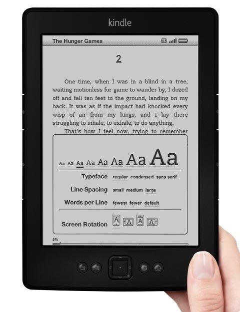 Amazon Kindle refresh