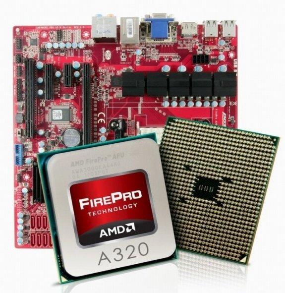 AMD FirePro A320 APU