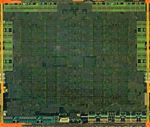 AMD Pitcairn die shot