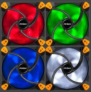 Antec TrueQuiet LED fans
