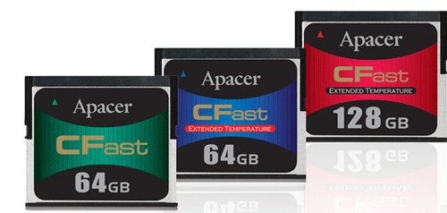 Apacer CFast cards