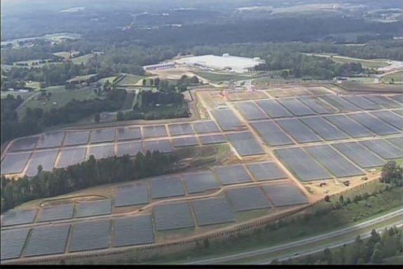20MW Apple solar farm