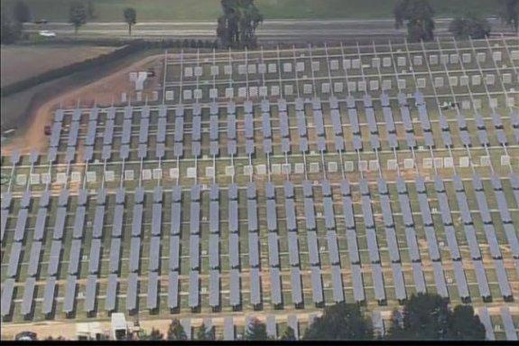 20MW Apple solar farm picture 2