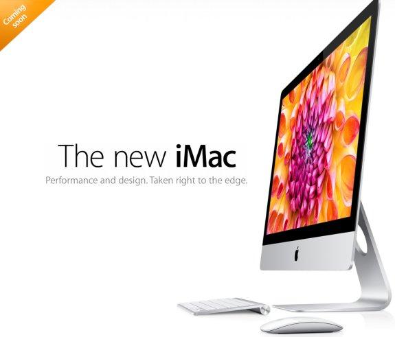 Apple iMac refresh