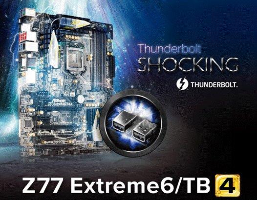 ASRock Z77 Extreme6 TB4