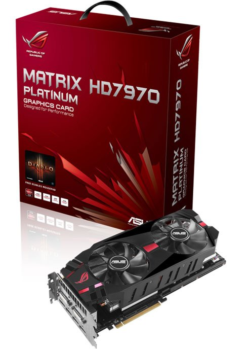 ASUS Matrix Radeon HD 7970 Platinum Edition