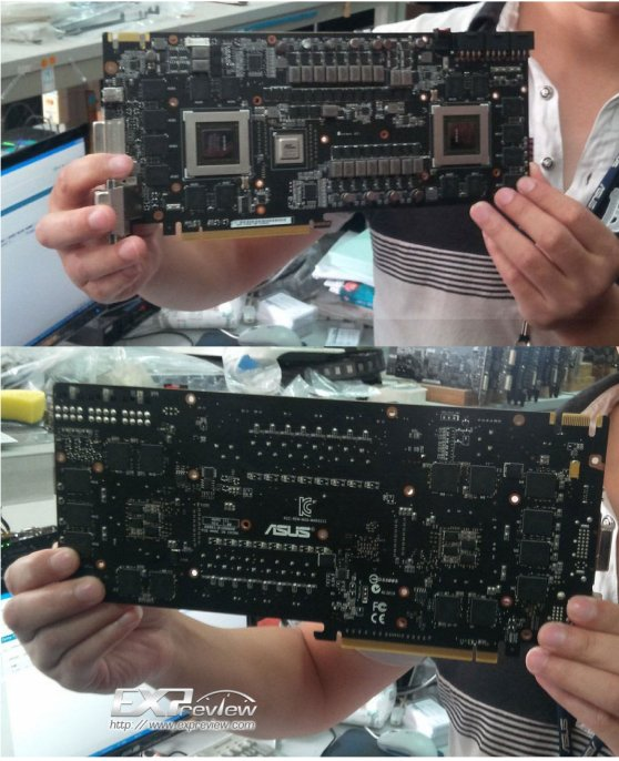 Leaked ASUS ROG Mars III dual-GeForce GTX 680 card shot