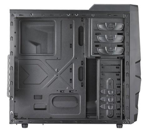 Cooler Master K380 interior