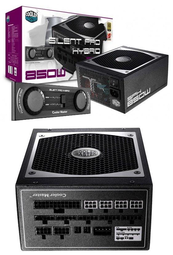 Cooler Master Silent Pro Hybrid 850W PSU