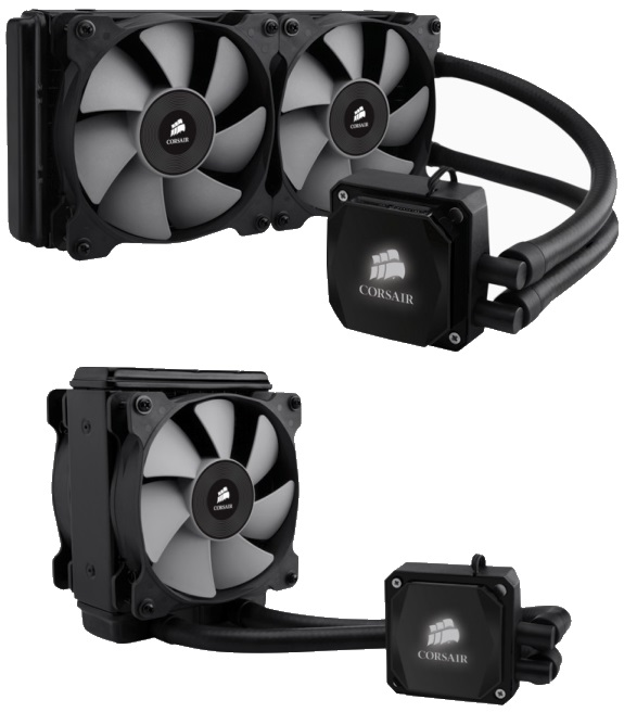 Corsair Hydro H100i and H80i