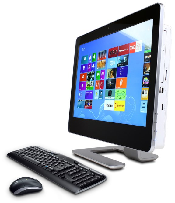 CyberPowerPC Zeus All-in-One with touchscreen