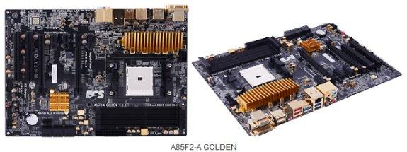 ECS A85F2-A GOLDEN motherboard