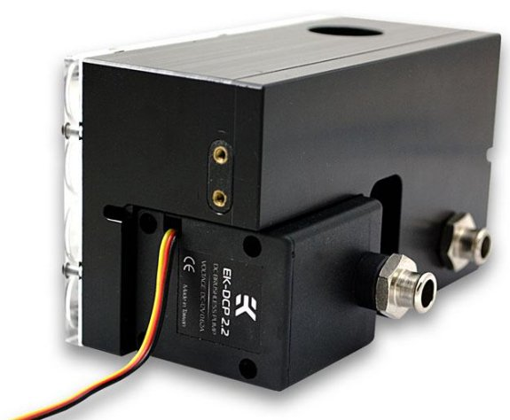 EK Waterblocks reservoir pump combo unit