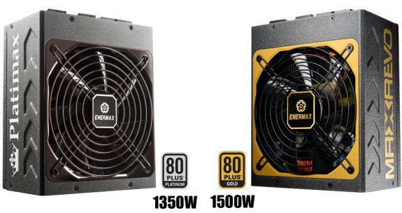 Enermax Platimax and MaxRevo PSUs