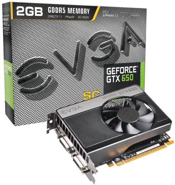EVGA GTX 650