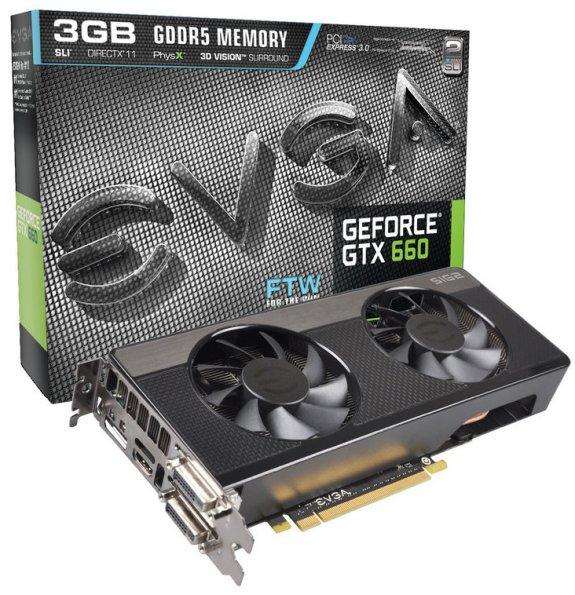 EVGA GTX 660 FTW 3GB