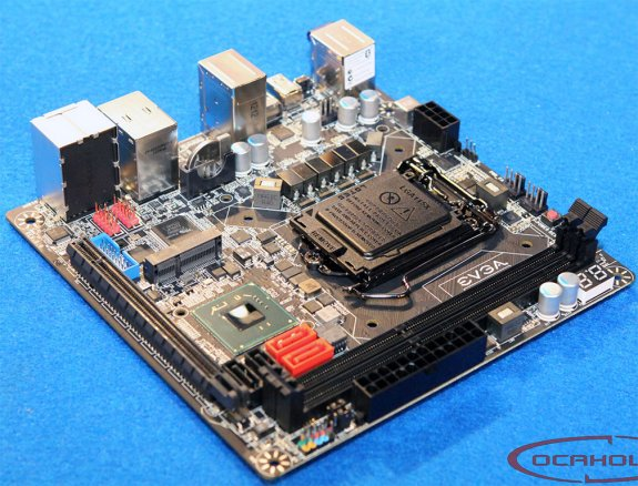 EVGA Z77 Mini ITX motherboard
