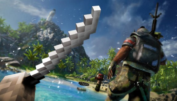 Far Cry 3 gets Minecrafted