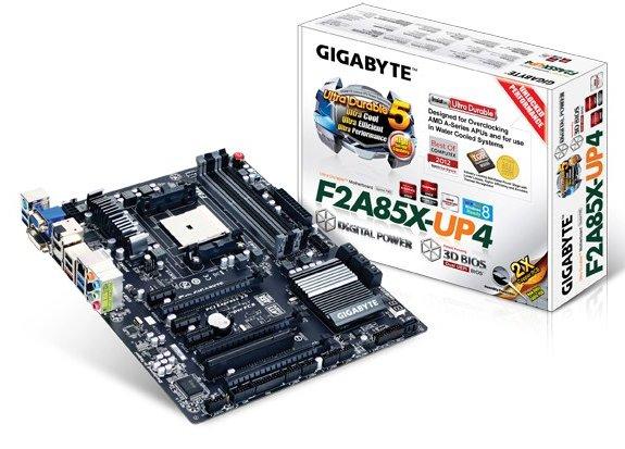 Gigabyte GA-F2A85X-UP4 box shot