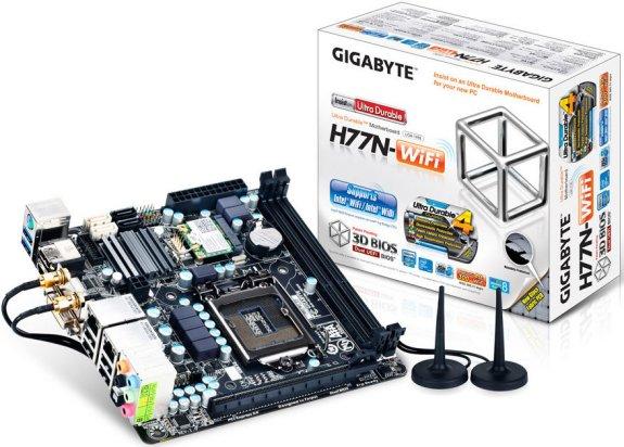 Gigabyte H77N WiFi