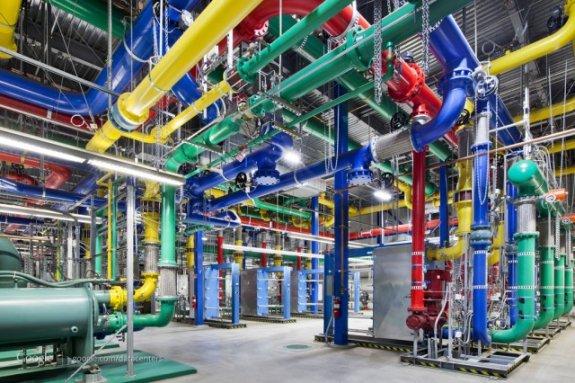 Google Datacenter tour part 2