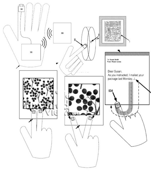 google smart glove drawing