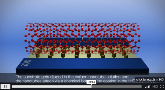 IBM nanotubes chip research