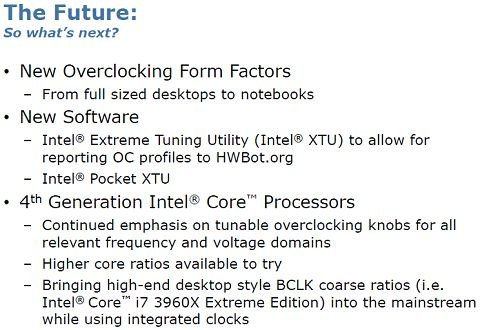 Intel Haswell overclocking enhancements