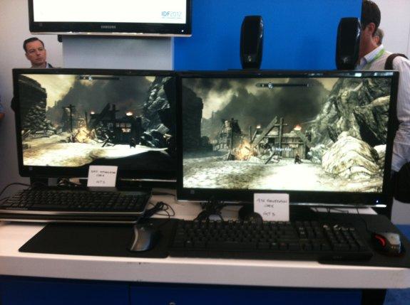 Intel Haswell running Skyrim