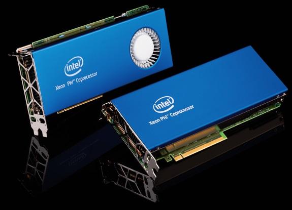 Intel Xeon Phi cards