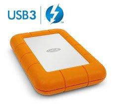 LaCie Rugged USB 3.0 Thunderbolt external HDD