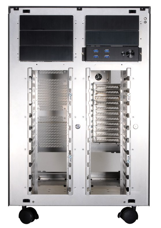 Lian Li PC-D8000 front without front panel