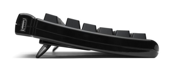 Matias Quiet Pro keyboard side shot