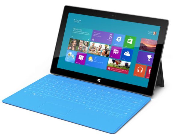 MS Surface tablet