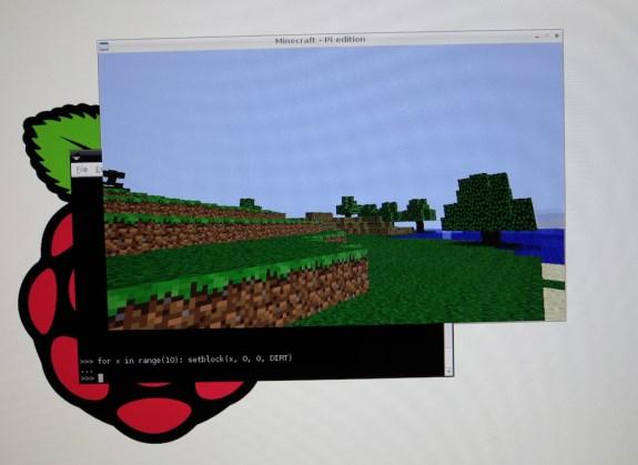 Minecraft for Raspberry Pi