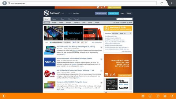 Firefox 18 new user interface