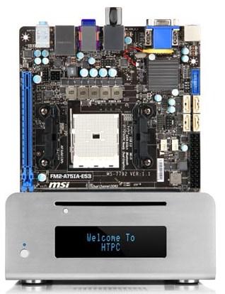 MSI Mini ITX motherboard