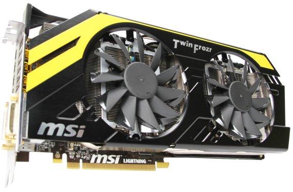 MSI Radeon HD 7970 Lightning Boost Edition