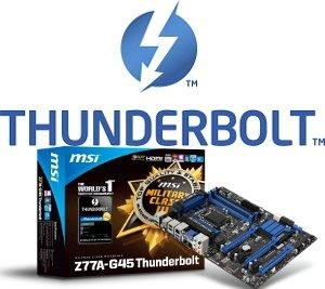 MSI Z77A-G45 Thunderbolt motherboard