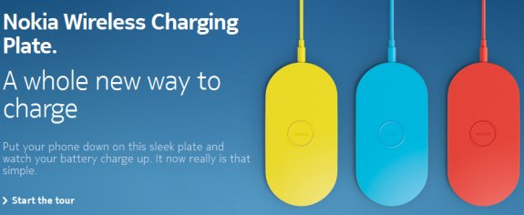 Nokia wireless charging pad